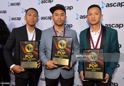 attends the 2016 ASCAP Pop Awards at the Dolby Ballroom on April 27, 2016 in Hollywood, California.