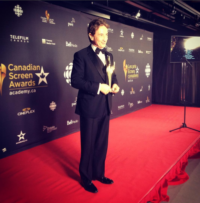 Martin Short on the Canadian Screen Awards Red Carpet.