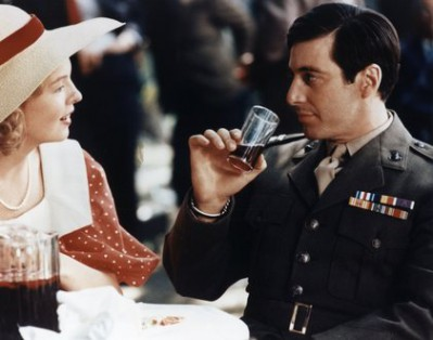"""The Godfather"" Diane Keaton, Al Pacino 1972 Paramount Pictures"