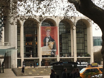 Exterior shot of The Met